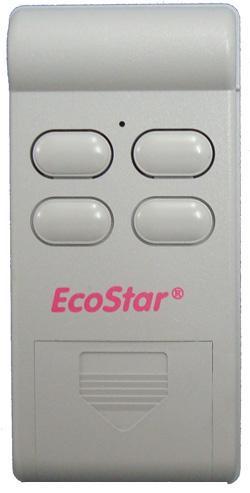 T l commande ecostar 40 2 for Porte de garage ecostar