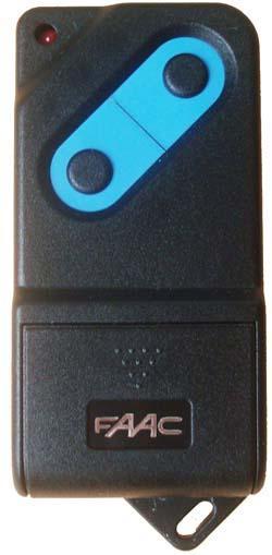 T l commande faac tm 433 2 - Telecommande de portail ...